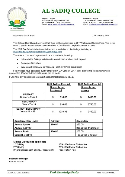school fee structure 2017v3