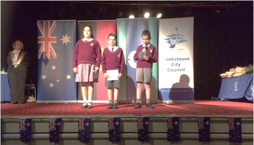 primary citizenship ceremony